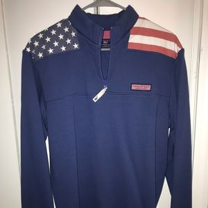 Brand New Vineyard Vines Flag Shep Shirt